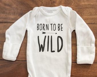 Born To Be Wild Bodysuit   Baby