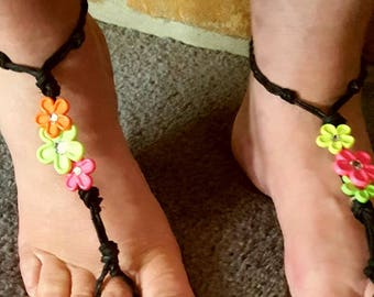 Classic Hippy Hemp Barefoot Sandals