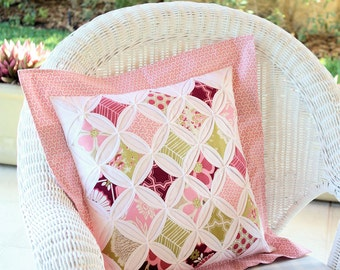 Cathedral Window Pillow PDF Sewing Pattern