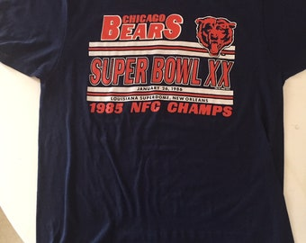 Chicago Bears Superbowl XX Vintage T-Shirt