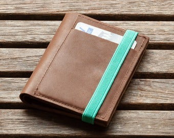 Mens wallets | leather wallet | Gift for Men | Brown | Slim Wallet