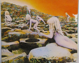 Led Zeppelin Hardrock Lp Houses Of The Holy Page Plant Bonham Atlantic