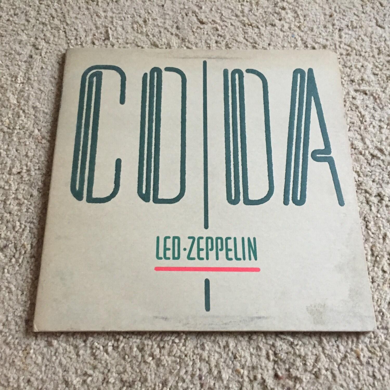 Led Zeppelin CD DA LP