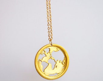World map necklace travel necklace globe necklace map world map necklace globe necklace map necklace dainty necklace world necklace gumiabroncs Image collections