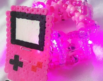 LED Gameboy Carousel Cuff