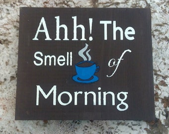 Coffee Kind of Day wood sign