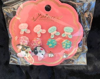 Girl earrings