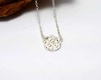 Star Dust Sterling silver small necklace