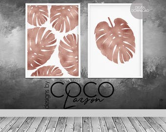 Rose Gold Decor Etsy