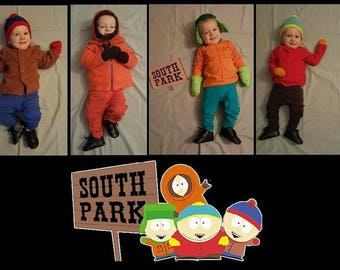 South Park Stan Hat, South Park Hat, Stan Marsh, Wendy, Cartman, Kyle, Kenny,  South Park Boys, cosplay hat, beanie, halloween cosplay,