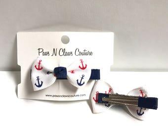 Anchor hair clip