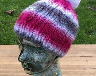 Cable Crochet Hat