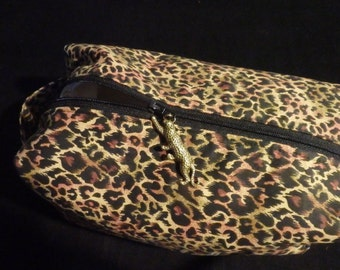 Cheetah Travel Pouch, Jungle Bag, Shave Kit, Dopp Kit, Toiletry Bag, Moisture Proof Ditty Bag, Toiletry Kit, Pencil Case, Cosmetics Pouch