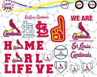 St Louis Cardinals svg,png,dxf/St Louis Cardinals clipart for Print/Design/Cricut/Silhouette and any more