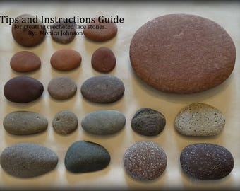 Tips and Instructions Guide for creating Lace Stones, NOT Patterns, By Monicaj, The Secrets, Crochet, Thread, DIY, Crafters, Gift, Unique