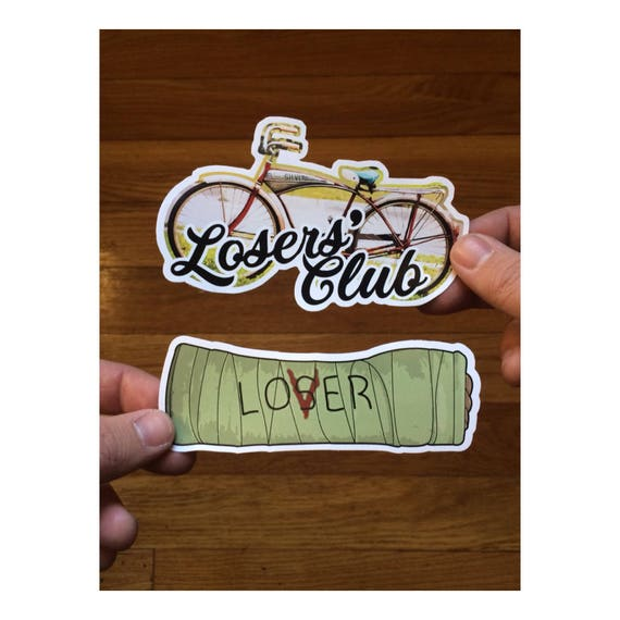 It sticker pack stephen king 2017 losers club lovers