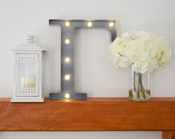 """Greek Letter Lights """"Gamma"""" / Letter Marquee Light """"Gamma"""" / Sorority Marquee Letters / Light up Letters / Sorority Lights / Marquee Signs"""
