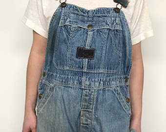 1950's Vintage Washington Dee Cee Farm Repaired Over alls