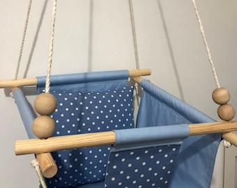 Baby Swing / Indoor / Outdoor Swing / Rope Swing / Nurserydecor / Gift for Baby