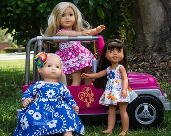 Dolly Rayann PDF Pattern for Sizes 14″ 15″ & 18″ (Bitty Baby, Wellie Wisher, American Girl equivalent)