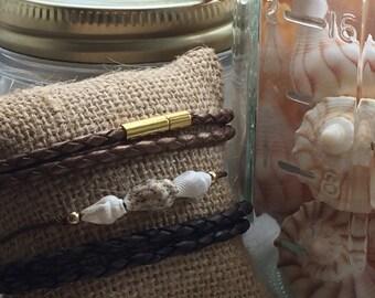 Conus Sea Shell bracelet