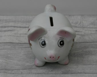 Cute Pig Money Box, Piggy Bank, Money Bank, Kitsch, Retro