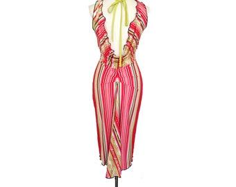 Low back Tango dress, midi dress. Backless wedding guest dress with tail. Ballroom dance dress with slit. Milonga dress. Dancewear