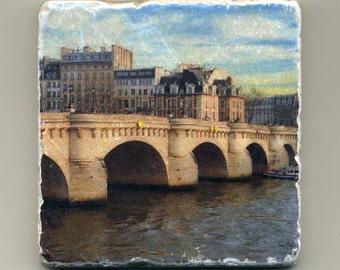 Pont Neuf in Paris, France -  Original Coaster