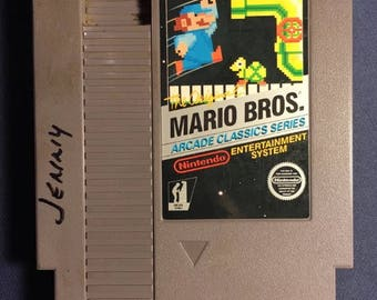 The Original Mario Bros Nintendo NES Video Game NA Version Cartridge Only From 1986