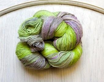 Silk Thread in English Garden Lightweight Lavender and Sage