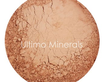 Ultimo Minerals EARTHY MEDIUM All-Natural Kosher Full-Coverage Mineral Foundation - Soft Pearlescent Finish - FREE Shipping!