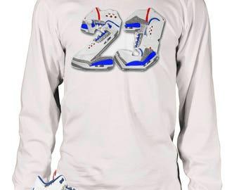 True blue 3s T-shirt , TSC