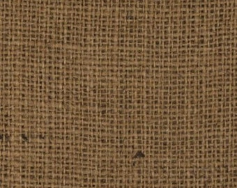 "47""- 48"" Inch Idaho Potato Colored Burlap By The Yard"