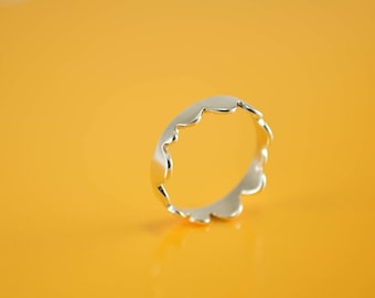 Minimal Ring, Sterling Silver Ring, Jungle Ring, Ring for girls, Kid's jewelry