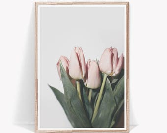 Tulip Print,Flower Print,Floral Wall Art,Flowers Print,Tulip Art Print,Flowers Wall Art,Tulip Printable,Flower Photography,Flower Poster