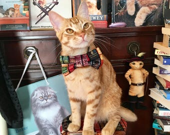 Books Pet Bow Tie