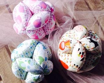 Montessori Ball with Rattle, Montessori