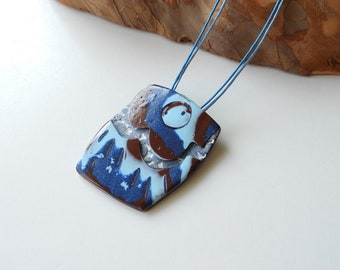 Blue necklace for women-unique jewelry for women-gift women-gift idea mothers day