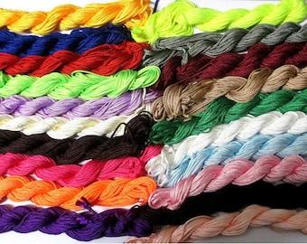 20 x 12 m 2mm nylon string mix colored