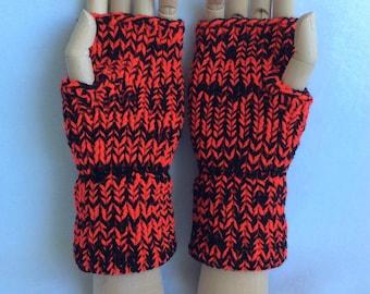 Cinnabar Fingerless Gloves