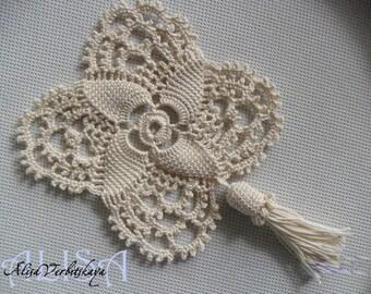 Border Instant Crochet pattern PDF crochet pattern Crochet tutorial  Chart Flowers pdf flower pattern pdf pattern Circuit crochet