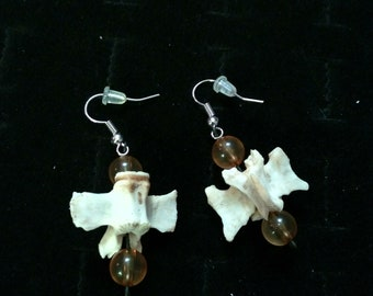 Bone earrings!