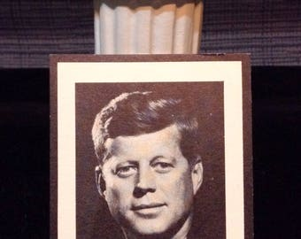 JFK Memorial Prayer Card 5/29/1917-11/22/1963