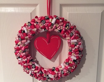 Love Ribbon Wreath