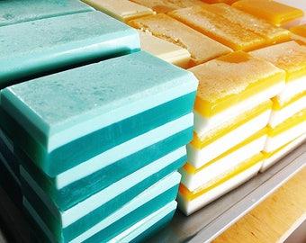 Gardener Gift. Gifts for Gardeners. Gift for Him. Gift for Her. Stocking stuffer. Bath Gift Eucalyptus & Mint Soap. Exfoliating Salt Soap