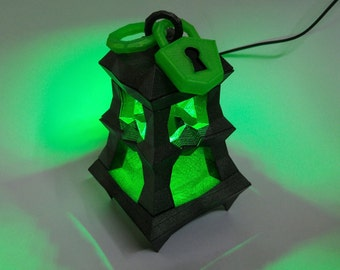 3D Printed LED Thresh Lantern League of Legends
