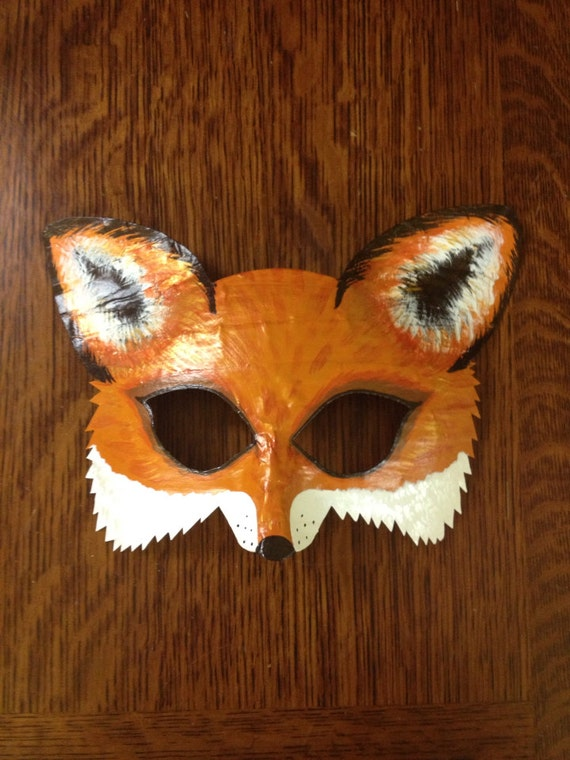 fox mask fox costume Mr. and Mrs. Fox arctic fox mask