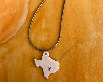 State of Texas Pendant-Texas Jewelry-State Jewelry-Texas Pendant