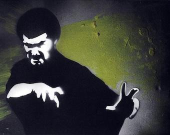 Kung Fu / Graffiti Art on Canvas
