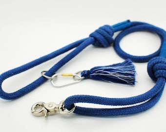 Knotted Pure Cotton Rope Lead 10mm with tassel